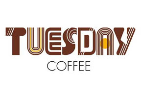 TUESDAYコーヒー様 ロゴ